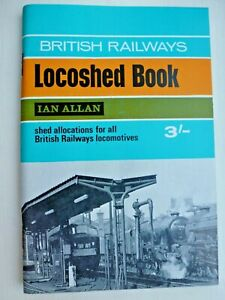 Ian Allan abc British Railways Locoshed Book July 1965