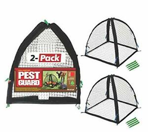"""Nuvue Products 32100 22"""" x 22"""" x 22"""" 2 Pack Pest Guard Cover Two-Pack Black"""