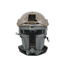 RG Airsoft SPT Mesh Full Face Mask Sparta Tactical Mask AF Helmet Mask