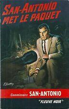 SAN ANTONIO met le paquet 1967 Fleuve Noir 194 Michel Gourdon