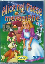 Alice nel paese delle meraviglie (2003) DVD NUOVO SIGILLATO De Agostini