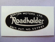 06-7908 NORTON DOMINATOR AJS MATCHLESS ROADHOLDER FORK SHROUD WATERSLIDE DECAL