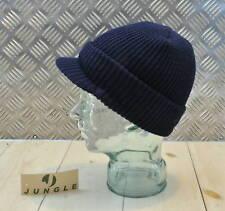 bleu marine casquette bonnet / jeep chapeau / casquette. unique taille NEUF