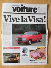 CITROEN Range 1979 French Market brochure - 2CV Dyane 6 Mehari GS X3 CX Acadiane