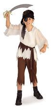 Pirate Boy Halloween Costume Child Size Medium 8-10
