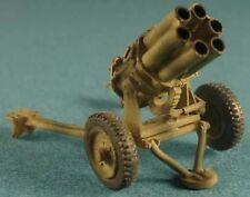 Milicast G073 1/76 Resin WWII German 15cm  Nebelwerfer 41 & Trailer