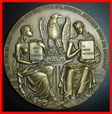 "Nude/ Women/ Imperial Eagle / Writer ""Aquilino Ribeiro"" / Beautiful Bronze M. 4a"
