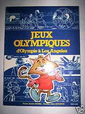 JEUX OLYMPIQUES D'OLYMPIE A LOS ANGELES // DESSINS MIKE DEPORTER // 1984