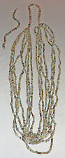 Faience necklace, 7 cascading strands, genuine beads dating from 1900-1300 Bc