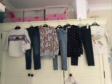 Girls Autumn Clothes Bundle Age 4-5 Years
