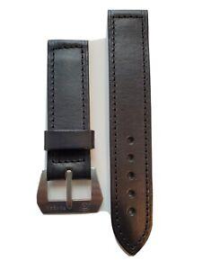 Panerai 24mm Pre-V strap With Pre Vendome SlyTech  Logo Buckle NOS