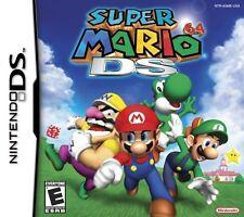 PC - & Videospiele für den Nintendo DS mit Gebrauchsanleitung und Super Mario 64