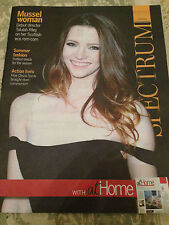 SPECTRUM MAGAZINE JUNE 2015 TALULAH RILEY PHOTO COVER LIANE CARROLL CHUCK NORRIS