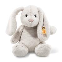 Steiff Soft Cuddly Friends 080470 Hoppie Hase 28 cm hellgrau
