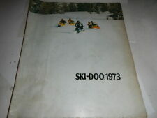 1973 SALES BROCHURE 10 PAGES SKI-DOO SNOWMOBILE