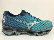Mizuno Wave Prophecy 4 Women's Size 7.5 Running Shoes Turquoise Purple Silver