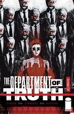 DEPARTMENT OF TRUTH #2 SIMMONDS VARIANT 1:50 IMAGE COMICS