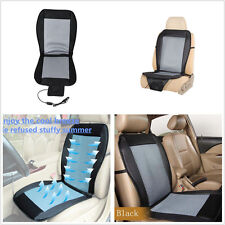 Car Seat Cooler Cushion Cover Pad 12V Summer Cooling Wind Chair Seat Cover Pad