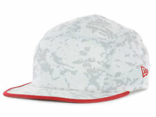 New Era Branded Snow'd Camper Hat  Cap RED Adjustable Brand New