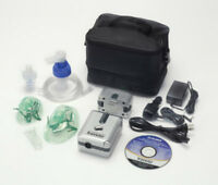 DeVilbiss Traveler Portable Nebulizer System Fast Free Shipping 6910P-DR, NEW