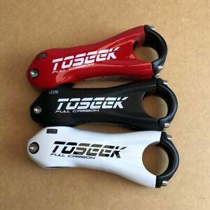 MTB TOSEEK Carbon Fiber Bicycle Stem ±10° Road Bike Handlebar Stem 31.8*80-110MM