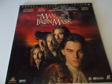 Digital Laser Disc The Man in the Iron Mask 2 Disc Set, Delux Letter Box Edition