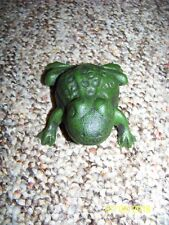 Wonderful Green Cast Iron Frog Key Holder / Box, New