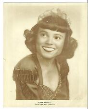 Singer & Dancer Penny Arnold Original 8�X10� 1950s Promotional Photograph
