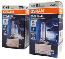 D1S OSRAM COOL BLUE INTENSE 66140CBI Extra Blue Xenon 2er Set