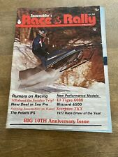 New Listing1977 Fall Race & Rally Snowmobile Magazine Scorpion Tkx Ann Drumheller Kalamazoo