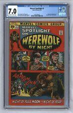 Marvel Spotlight #2 1st Werewolf By Night 1972 Moon Knight Disney Plus CGC 7.0