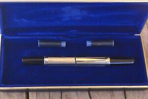 Très Rare vintage stylo plume PILOT CAPLESS GOLD première génération de 1965