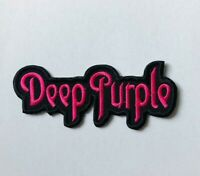 Deep Purple Music Band Embroidered Iron On Sew On Patch Badge For Clothes etc