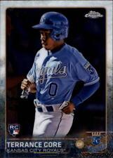 2015 Topps Chrome Baseball #130 Terrance Gore RC Kansas City Royals