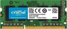 MEMORIA RAM CRUCIAL 8GB DDR3L-1600 SODIMM PER NOTEBOOK