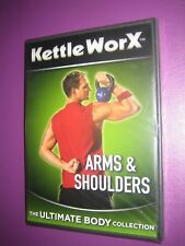 Kettleworx Arms & Shoulders Body Workout  Region 0 {DVD} New and Sealed FREEPOST