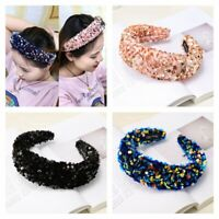Hair Band Costume Hoop  Headband  NEW Accessories  Hairband  Sequin Padded Korea