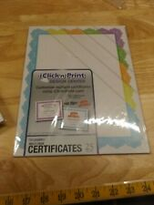 Lot of 6 Packages of Certificates