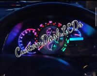 RAINBOW - SPEEDO ONLY KIT Is200 Is300 Altezza LEXUS Cluster Dash Led Bulbs