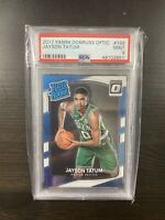 2017-18 Panini Jayson Tatum #198 Donruss Optic Jason PSA 9 Graded Card