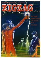 ZIGZAG Magazine No 78 November 1977 Mick Jagger MC5 Rob Tyner Phil Rambow ATV