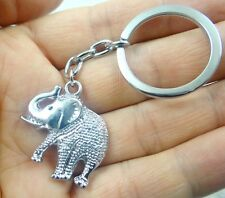 28*25MM Hand-carved Elephant alloy Crafts, Key Chain, Key Ring  A40