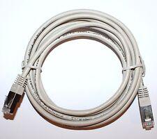 Câble réseau Ethernet RJ45 3m Cat 5e droit gris – cordon 3 mètres Gigabit LAN
