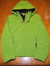 fjäll Women's Softshell Green Full Zip Jacket Women's Small Fjall Spandex Polyes