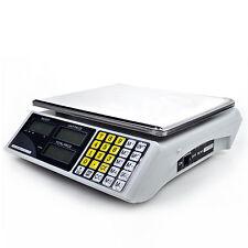 30kg/5g Ladenwaage Paketwaage Preiswaage Waage Elektronik Digitalwaage