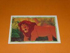 N°190 PANINI LE ROI LION 1994 DESSIN ANIME WALT DISNEY LION KING SIMBA MUFASA