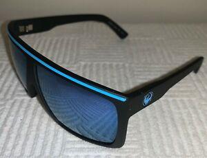 Dragon Sunglasses FAME Matte Dark Blue Frame w/ Sky Blue Ion Mirror Lens *NEW*