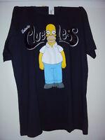 T-Shirt THE SIMPSONS HOMER - Totally CLUELESS! Lizenz Shirt Original Dunkel Blau