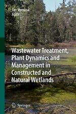 Wastewater Treatment, Plant Dynamics and Manage. Vymazal, Jan.#*=.#*=
