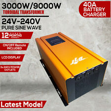 Bit 3000W 9000W Peak 24V Pure Sine Wave Power Inverter